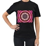 tunnel-198165 Women s Black T-Shirt (Two Sides)