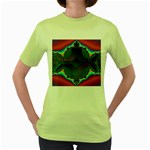 Uladusa_Desktop-976877 Women s Green T-Shirt