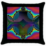 Uladusa_Desktop-976877 Throw Pillow Case (Black)
