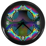 Uladusa_Desktop-976877 Wall Clock (Black)
