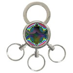 Uladusa_Desktop-976877 3-Ring Key Chain