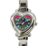 Uladusa_Desktop-976877 Heart Italian Charm Watch