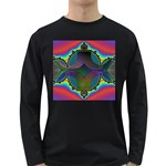 Uladusa_Desktop-976877 Long Sleeve Dark T-Shirt