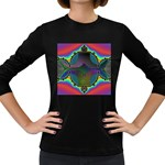 Uladusa_Desktop-976877 Women s Long Sleeve Dark T-Shirt