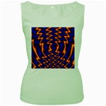 wallpaper%20spumanti%2002-776205 Women s Green Tank Top