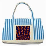 wallpaper%20spumanti%2002-776205 Striped Blue Tote Bag