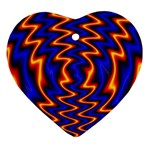 wallpaper%20spumanti%2002-776205 Heart Ornament (Two Sides)