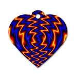 wallpaper%20spumanti%2002-776205 Dog Tag Heart (Two Sides)