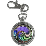 Colorfull_Fractal-215042 Key Chain Watch