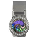 Colorfull_Fractal-215042 Money Clip (CZ)