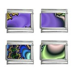 Colorfull_Fractal-215042 9mm Italian Charm (4 pack)