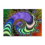 Colorfull_Fractal-215042 Sticker (A4)