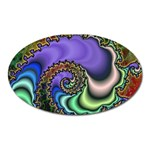 Colorfull_Fractal-215042 Magnet (Oval)