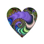 Colorfull_Fractal-215042 Magnet (Heart)