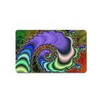 Colorfull_Fractal-215042 Magnet (Name Card)