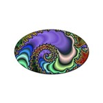 Colorfull_Fractal-215042 Sticker Oval (10 pack)