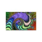 Colorfull_Fractal-215042 Sticker Rectangular (100 pack)