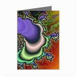 Colorfull_Fractal-215042 Mini Greeting Card