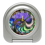 Colorfull_Fractal-215042 Travel Alarm Clock