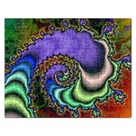 Colorfull_Fractal-215042 Jigsaw Puzzle (Rectangular)