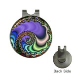 Colorfull_Fractal-215042 Golf Ball Marker Hat Clip