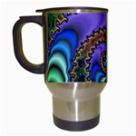 Colorfull_Fractal-215042 Travel Mug (White)