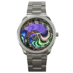Colorfull_Fractal-215042 Sport Metal Watch