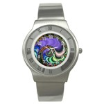 Colorfull_Fractal-215042 Stainless Steel Watch