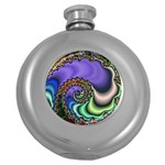 Colorfull_Fractal-215042 Hip Flask (5 oz)