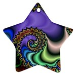 Colorfull_Fractal-215042 Star Ornament (Two Sides)