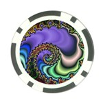 Colorfull_Fractal-215042 Poker Chip Card Guard (10 pack)