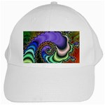 Colorfull_Fractal-215042 White Cap