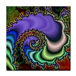 Colorfull_Fractal-215042 Tile Coaster