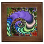 Colorfull_Fractal-215042 Framed Tile