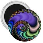 Colorfull_Fractal-215042 3  Magnet
