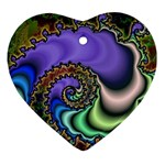 Colorfull_Fractal-215042 Ornament (Heart)