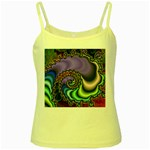 Colorfull_Fractal-215042 Yellow Spaghetti Tank