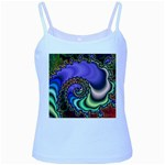 Colorfull_Fractal-215042 Baby Blue Spaghetti Tank