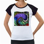 Colorfull_Fractal-215042 Women s Cap Sleeve T