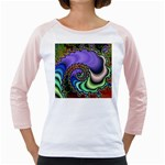 Colorfull_Fractal-215042 Girly Raglan