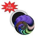 Colorfull_Fractal-215042 1.75  Magnet (10 pack)