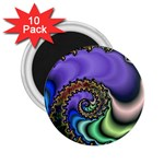 Colorfull_Fractal-215042 2.25  Magnet (10 pack)
