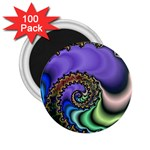 Colorfull_Fractal-215042 2.25  Magnet (100 pack)