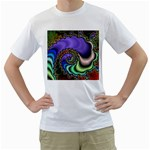 Colorfull_Fractal-215042 White T-Shirt