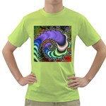 Colorfull_Fractal-215042 Green T-Shirt