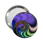 Colorfull_Fractal-215042 2.25  Handbag Mirror