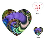 Colorfull_Fractal-215042 Playing Cards (Heart)