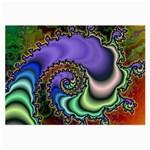 Colorfull_Fractal-215042 Glasses Cloth (Large)