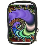 Colorfull_Fractal-215042 Compact Camera Leather Case