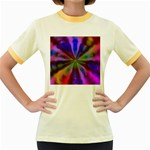 Bounty_Flower-161945 Women s Fitted Ringer T-Shirt